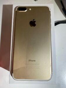 Apple iPhone 7 Plus - 128GB - Gold - (Unlocked) A1784 - MINT WITH SCREEN PROTECT