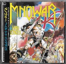 MANOWAR  Hail To England (1984) JAPAN CD OBI 1993 Victor MVCG-142
