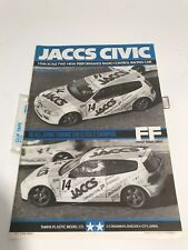 Tamiya 58133 JACCS Civic Radio Control instruction Manual