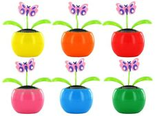 Wackel-Blume Solar-Blume Flip Flap Wackel-Figur Solar Solar-Figur Schmetterling