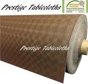 Brown Table Protector Heat Resistant Anti Slip - ALL SIZES by PRESTIGE