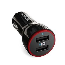 Anker PowerDrive 2 (24W / 4.8A 2-Port USB Car Charger) for iPhone 6 / 6 Plus, iP