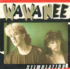 "WA WA NEE ‎– Stimulation (1986 SYNTH.POP VINYL SINGLE 7"" DUTCH PS)"