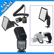 Yongnuo YN560III Flashlight+3M i-TTL Off-Camera FLASH sync cable+16x22cm softbox