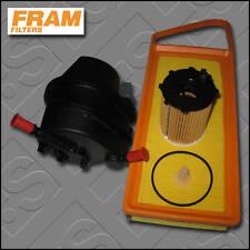 SERVICE KIT PEUGEOT 206 1.4 HDI 8V FRAM OIL AIR FUEL FILTERS (2002-2007)