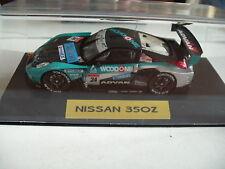 """Ebbro Nissan 350 Z """"24"""" """"Woodone""""  in Black/green on 1:43"""