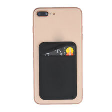 Universal Lycra Cell Phone Wallet Case Credit Card Holder Stick On Adhesive high