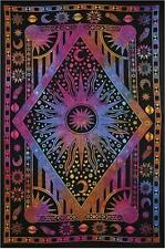 Trippy Mandala Tapestry Home Wall Hanging Colorful Psychedelic Art Tapestry Deco