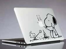More details for snoopy and woodstock camping decal sticker for laptop, macbook, car, notebook