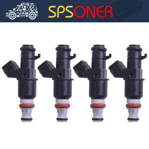 4PCS 16450-RBB-003 Fuel Injector For 2004-11 Acura and Honda Civi 2.0 2.4L