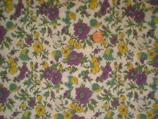 Floral Vintage Feedsack Flour Sack Quilt Sewing Doll Clothes Craft Fabric
