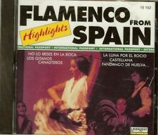FLAMENCO HIGHLIGHTS FROM SPAIN - CD - NEW - SEALED