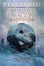 SIGNED 1st print/edition  The Summer Dragon by Todd Lockwood (2016, Hardcover)