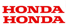 Honda Aufkleber Set / Honda Premium Sticker Set (Rot)