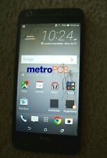 Working HTC Desire 626S 4G LTE GSM Cell Phone Unlocked No Contract Cracked scrn