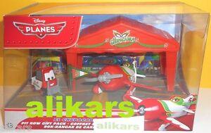 El Chupacabra +Pitty +Race Team Tent - Pit Row Gift Pc Planes Disney Cars Mattel