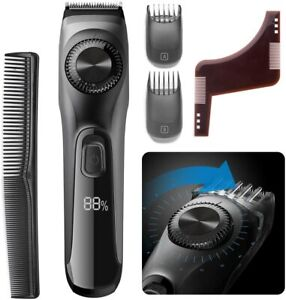 Beard Trimmer Men - OriHea Adjustable Professional Mens Hair Clippers Cordless