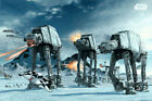 Star Wars: Episode V - Empire Strikes Back - Movie Poster (Battle Of Hoth)
