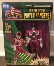 NEW 1994 BANDAI MIGHTY MORPHIN PINK POWER RANGERS KARATE KICKIN' Kimberly 2203
