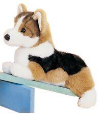 Douglas Toys 14'' Plush KIRBY the TRI-COLOR CORGI DOG ~NEW~