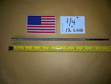 "1/4"" X 12""- 13""  LONG  MASONRY CARBIDE TIP DRILL BIT MADE IN THE USA  Masonry"