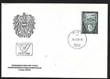 Austria 1978 First Day Cover, Lehar And His Home , Bad Ischl