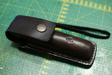 Leather holster for flashlight Fenix PD35 or PD32 or E21 or Nitecore MH12