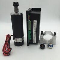 CNC 600W ER16 Air Cooled DC Spindle Motor + PWM MACH3 Power Supply + Bracket Kit