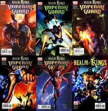 Realm of Kings: Imperial Guard #1-5 (2010), Realm of Kings (2010) Marvel Comics
