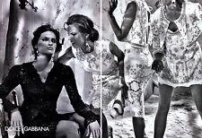 2011 Dolce Gabbana DG Steven Klein Izabel Goulart Isabeli Fontana MAGAZINE AD