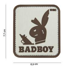 Badboy beige Patch Klett Airsoft Paintball Tactical