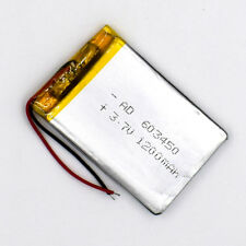 3.7V 1200 mAh 603450 Li-Polymer Rechargeable Battery Li Po for GPS Bluetooth MP3