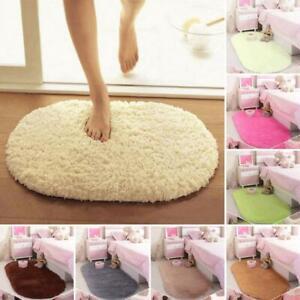 Super Absorbent Bathroom Carpet Non-Slip Bathtub Floor Mat Doormat Toilet Rug