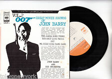 JAMES BOND 007 YOU ONLY LIVE TWICE EP PS Japan JOHN BARRY s6843