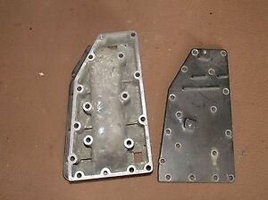 BK4C5571 Force 40/50 HP Plate Exaust Port F691151-1 Fits 1987-1995