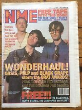 NME New Musical Express 3/2/96 Oasis, Pulp, Black Grape, Chemical Brothers