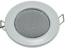 Lautsprecher Decken-Einbaulautsprecher Mini Halogen-Look Ø 8cm, 3 Farben Auswahl