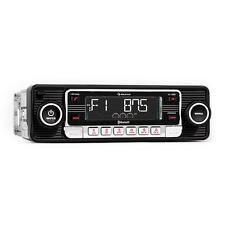 Top Autoradio bluetooth style vintage lecteur CD SD USB MP3 AUX radio RDS noir