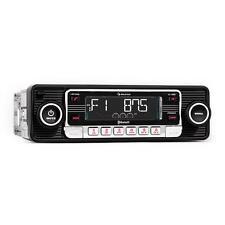 Top Autoradio bluetooth style vintage lecteur CD SD USB MP3 AUX radio RDS noir