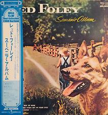 WHITE LABEL PROMO WITH OBI RED FOLEY SOUVENIR ALBUM MCA RECORDS LP MCL-1062 EX