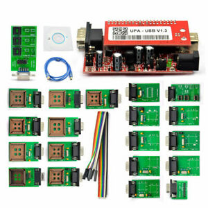 V1.3 New UPA USB Programmer With Full Adaptors With Nec Function ECU Chip Tuning