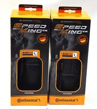 2x Continental Speed King CX 700x32 Folding Clincher Black Chili Cyclocross