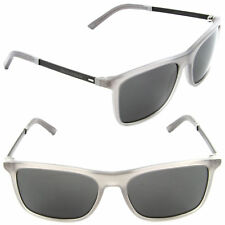 Dolce & Gabbana Unisex Rectangular Sunglasses DG4242 186187 Grey Frame Grey Lens