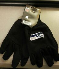 Seattle Seahawks Black Utility Gloves