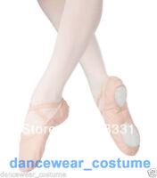 New Child Girls Kids Soft Split-Sole Canvas Ballet Dance Shoes Slippers US 8-13