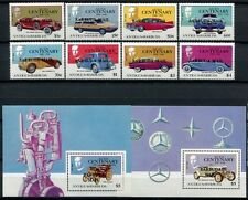 Barbuda 1987 OLDTIMER AUTOMOBILE CARS 934-941 + blocco 118-119 **