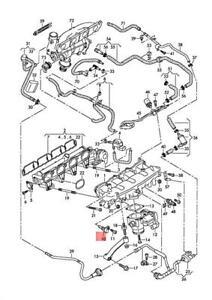 Genuine Temperature Sensor AUDI A4 allroad quattro S4 06H905379