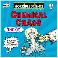 Horrible Science Chemical Kit - Kids home experiments lab