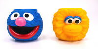 Vintage 1995 Applause Inc. Sesame Street Plastic Cup Big Bird & Grover Monster