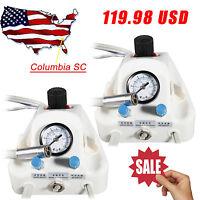 2 Sets USA Portable Dental Turbine Unit Work w/ Air Compressor /Bottles 4Hole #B